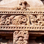 Stone carvings of indian temple